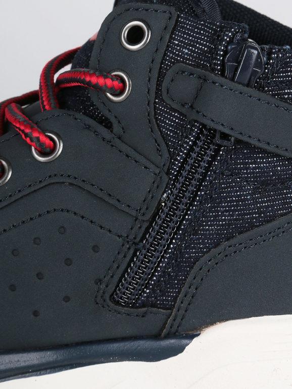 levi's New Aspen sneakers alte navy da bambino   MecShopping