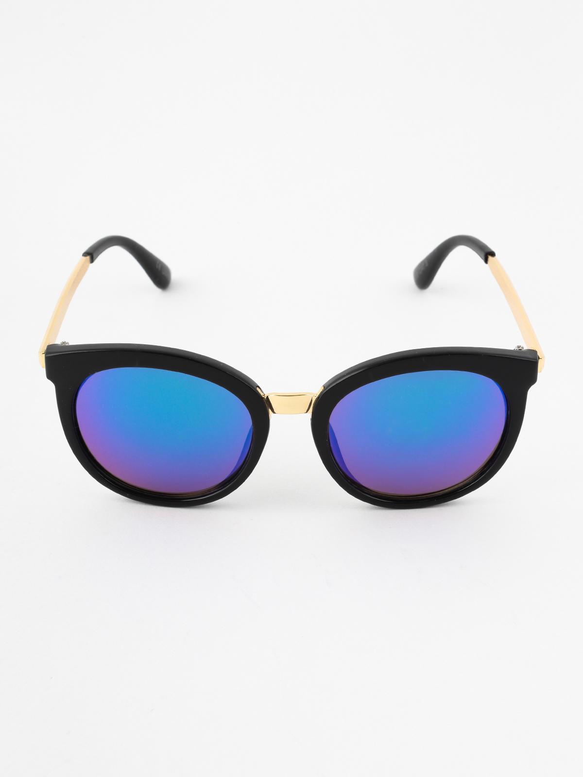 27fddb8164 Occhiali da sole con lenti a specchio seevision | MecShopping