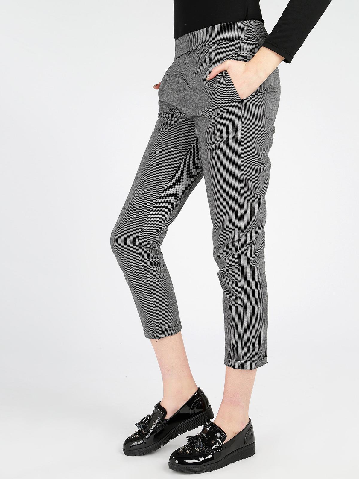 Pantalones A Rayas Mujer Mecshopping