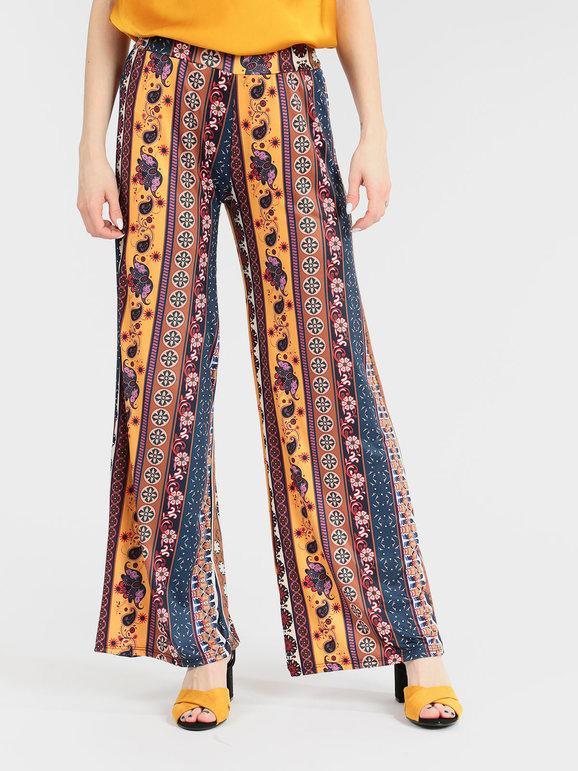 Pantalones Coloridos De Palacio Mujer Mecshopping