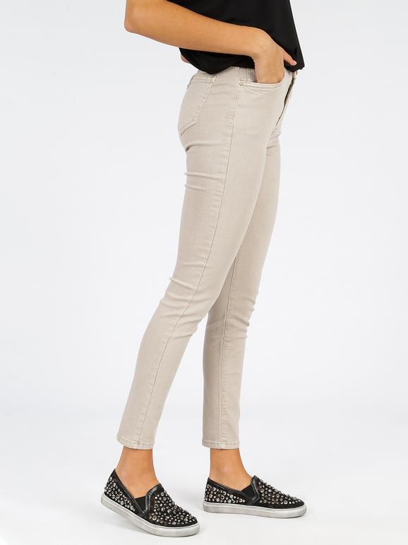 Pantalones De Mujer De Cintura Alta Mujer Mecshopping