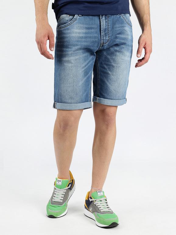 Pantalones Vaqueros Cortos Hombre Mecshopping