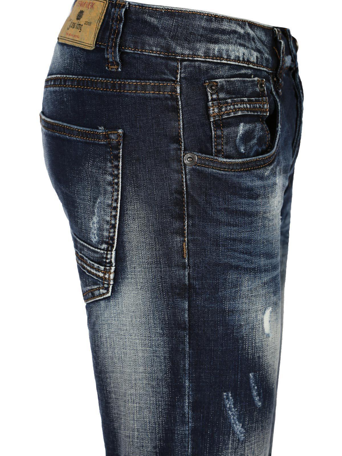ccdf5a3f3629 Pantalones vaqueros lavados con rasgaduras hombre | MecShopping
