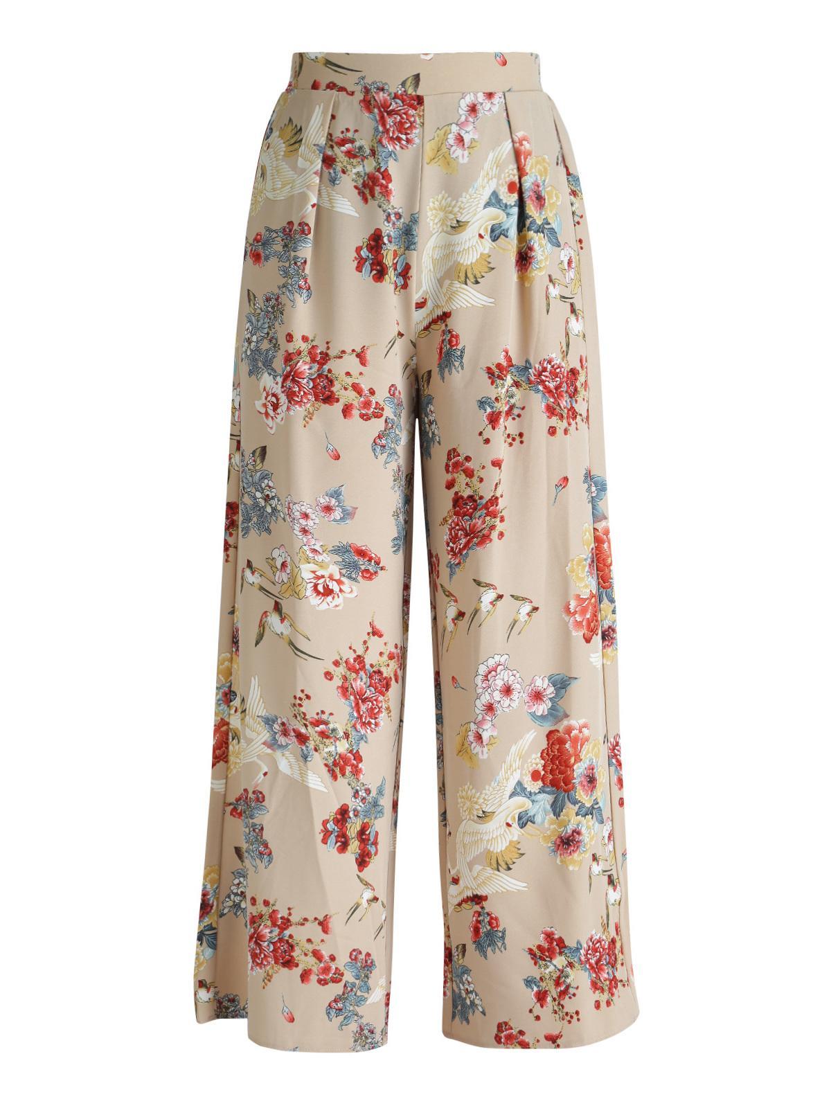 1cff0b58a8 Pantaloni a palazzo - fantasia a fiori jestoms | MecShopping
