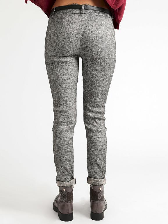 l'atteggiamento migliore fda90 a57ed Pantaloni elasticizzati a vita alta con cintura solada ...