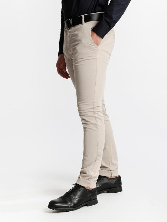 Pantaloni elasticizzati di cotone