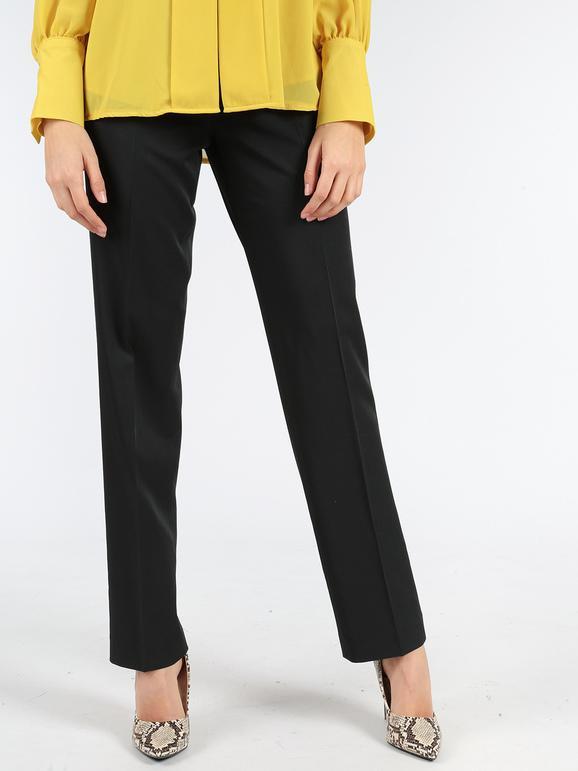 stile attraente elegante e grazioso cerca ufficiale Pantaloni eleganti a vita alta - nero radaus | MecShopping