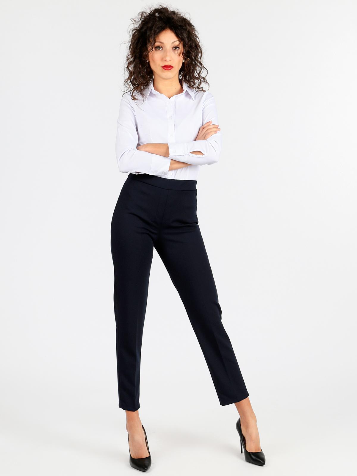 Pantaloni eleganti Donna Senza Tasche 00042693
