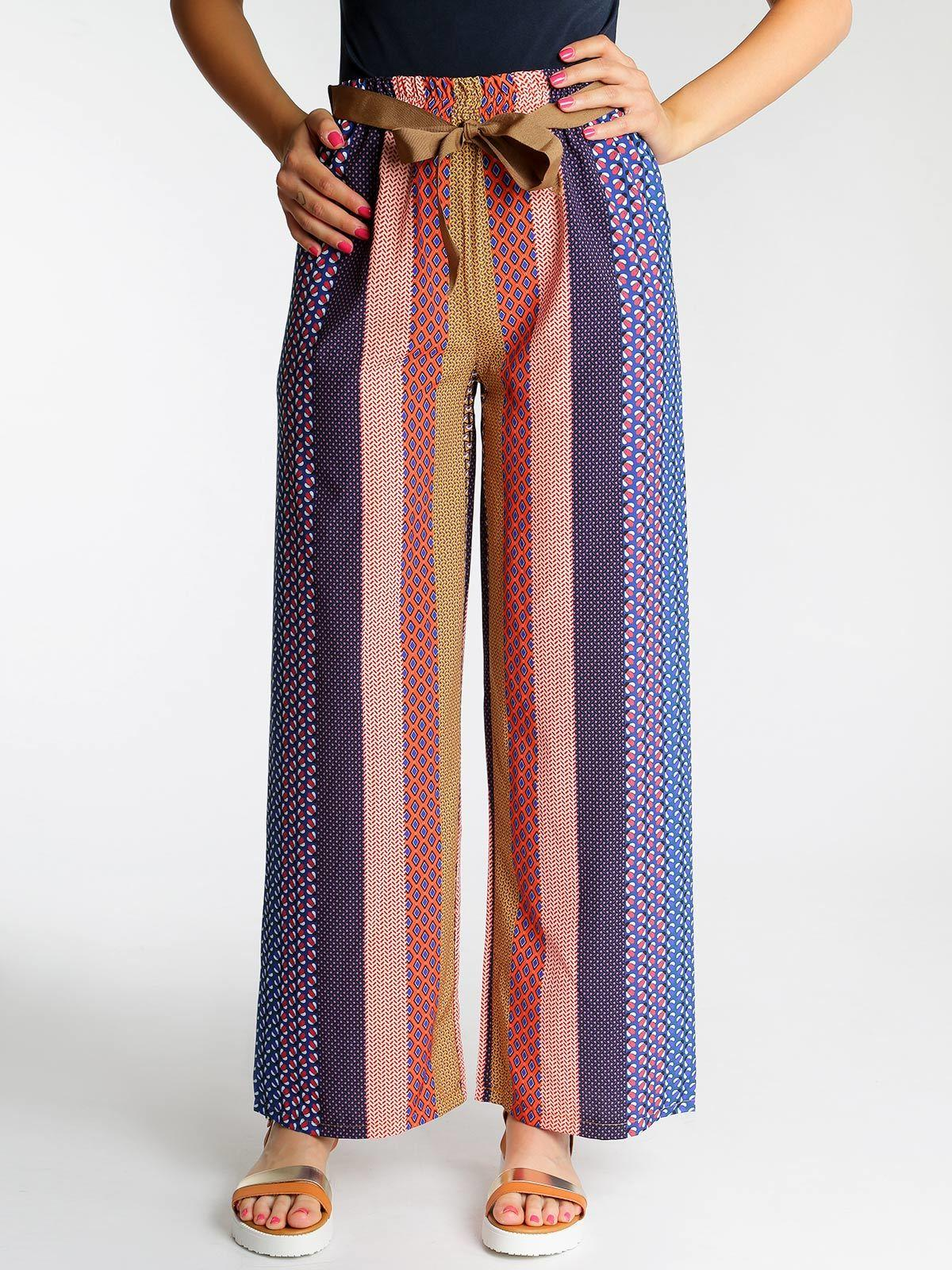 nuovo di zecca 43714 714e2 Pantaloni larghi a vita alta solada | MecShopping