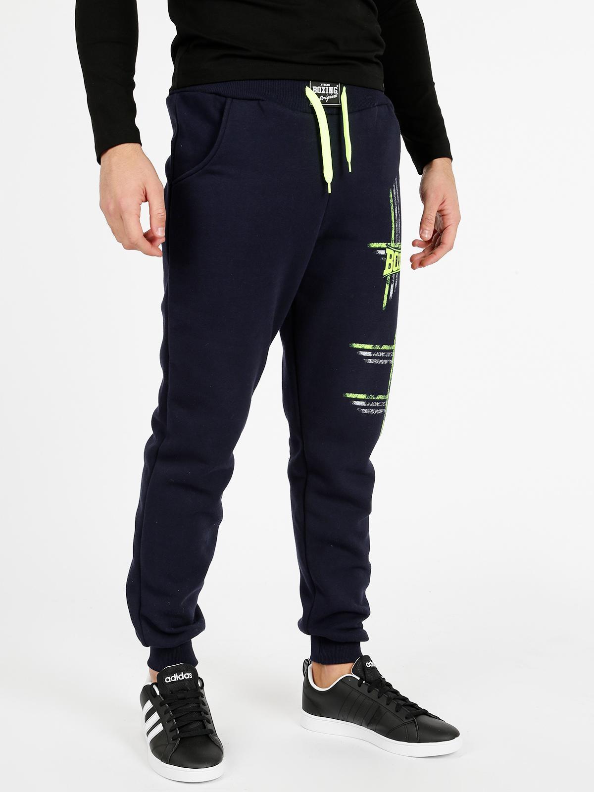 pantaloni adidas uomo con polsino