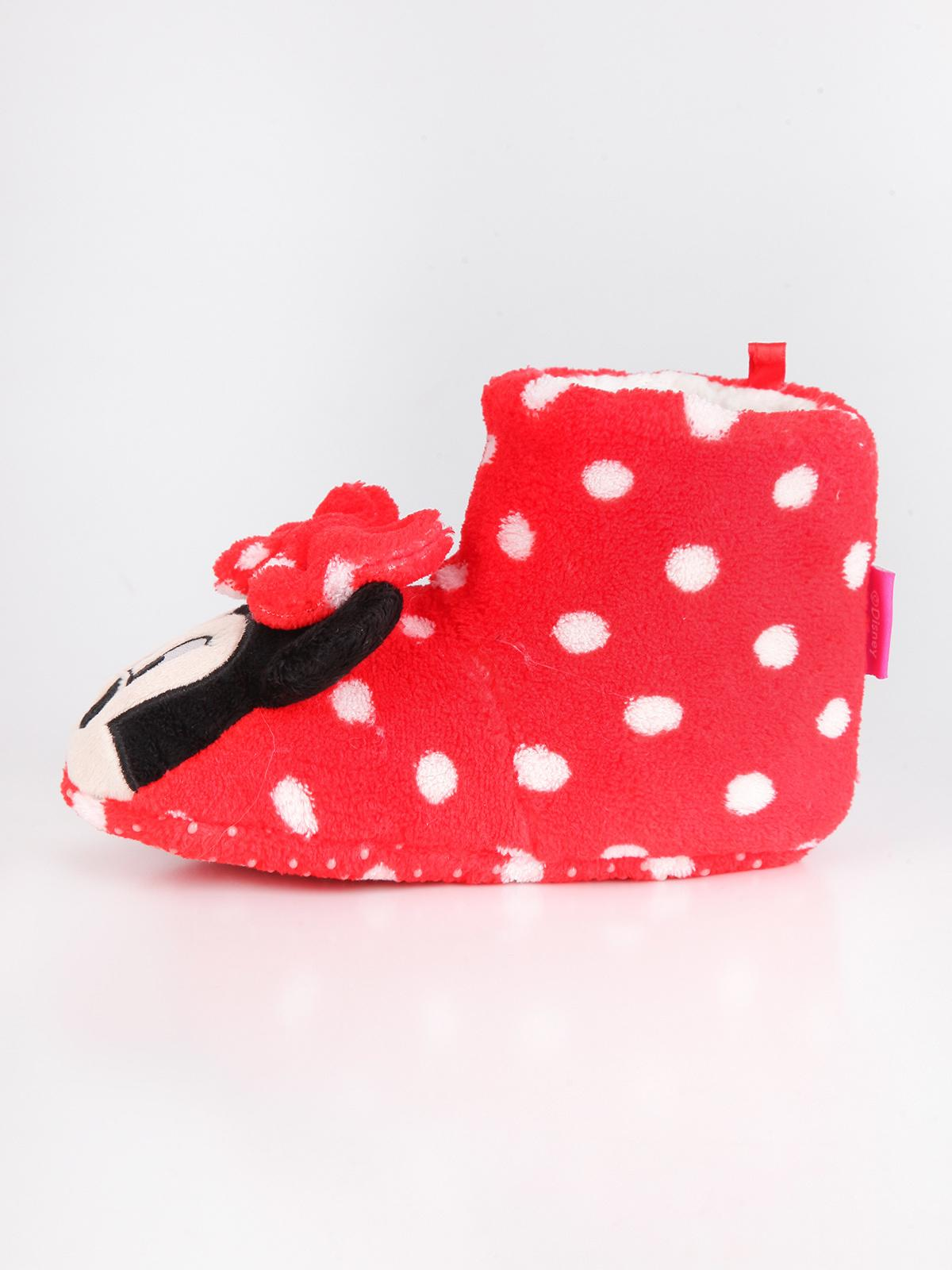 new arrival 641b0 a66ad Pantofole alte minnie rosse disney | MecShopping