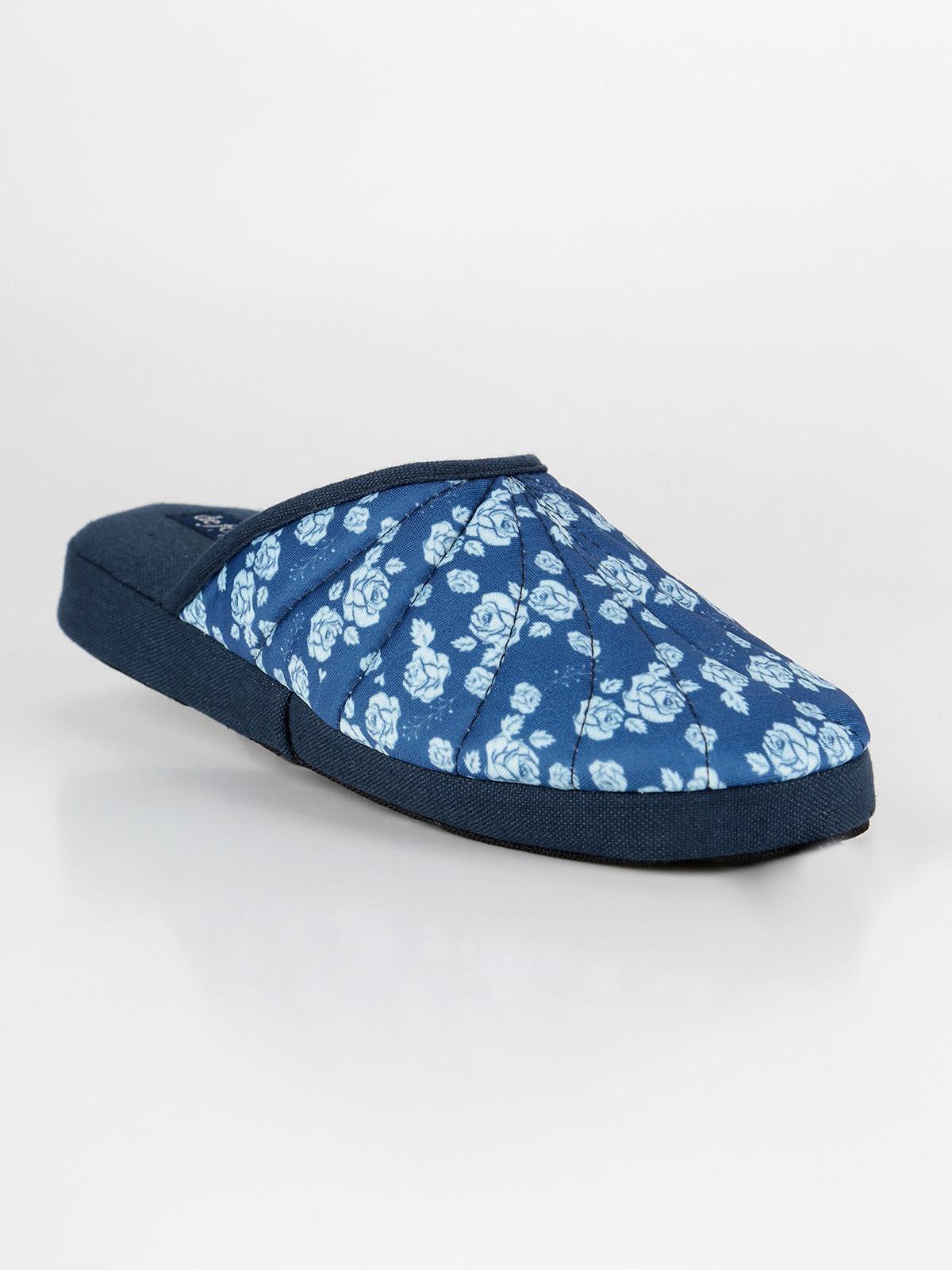 Pantofole in tessuto con stampa fiori defonseca | MecShopping