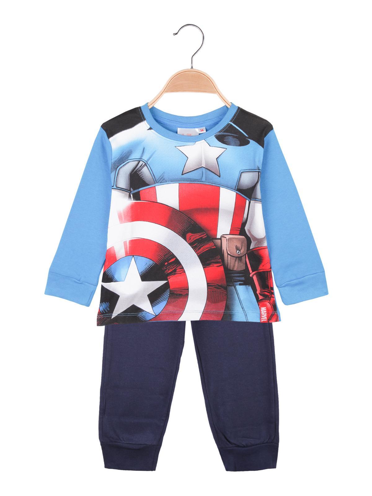 Pigiama blu Capitan America MARVEL