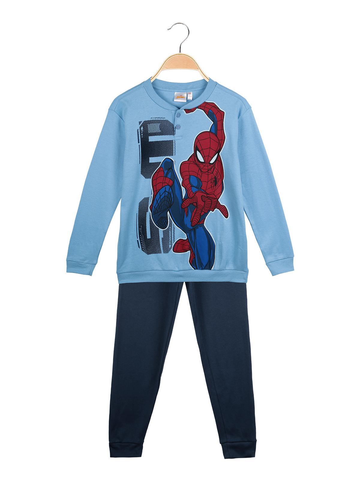 Spiderman Chicos Pijama mangas cortas Negro