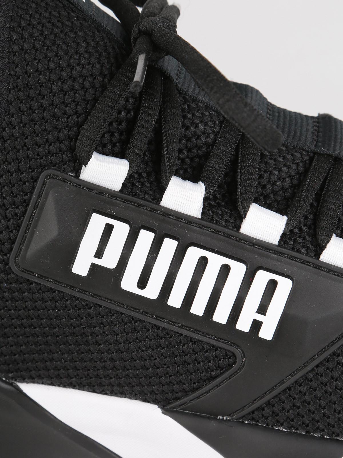 scarpe ginnastica donna nere puma