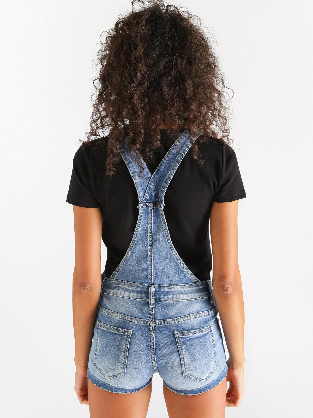 buy cheap fc9bc 4fe53 Salopette jeans corta m.b.j fashion jeans | MecShopping