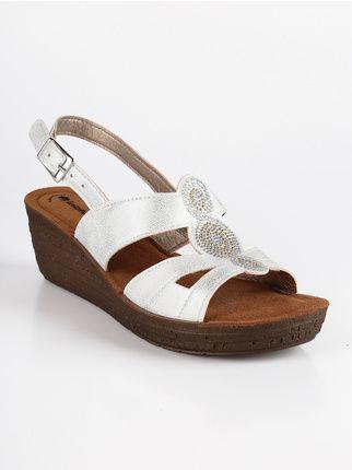 440953759a Sandali con Zeppa Donna   Mec Shopping Negozio Online