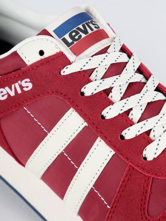 Scarpe basse rosse da uomo WEBB levi's | MecShopping