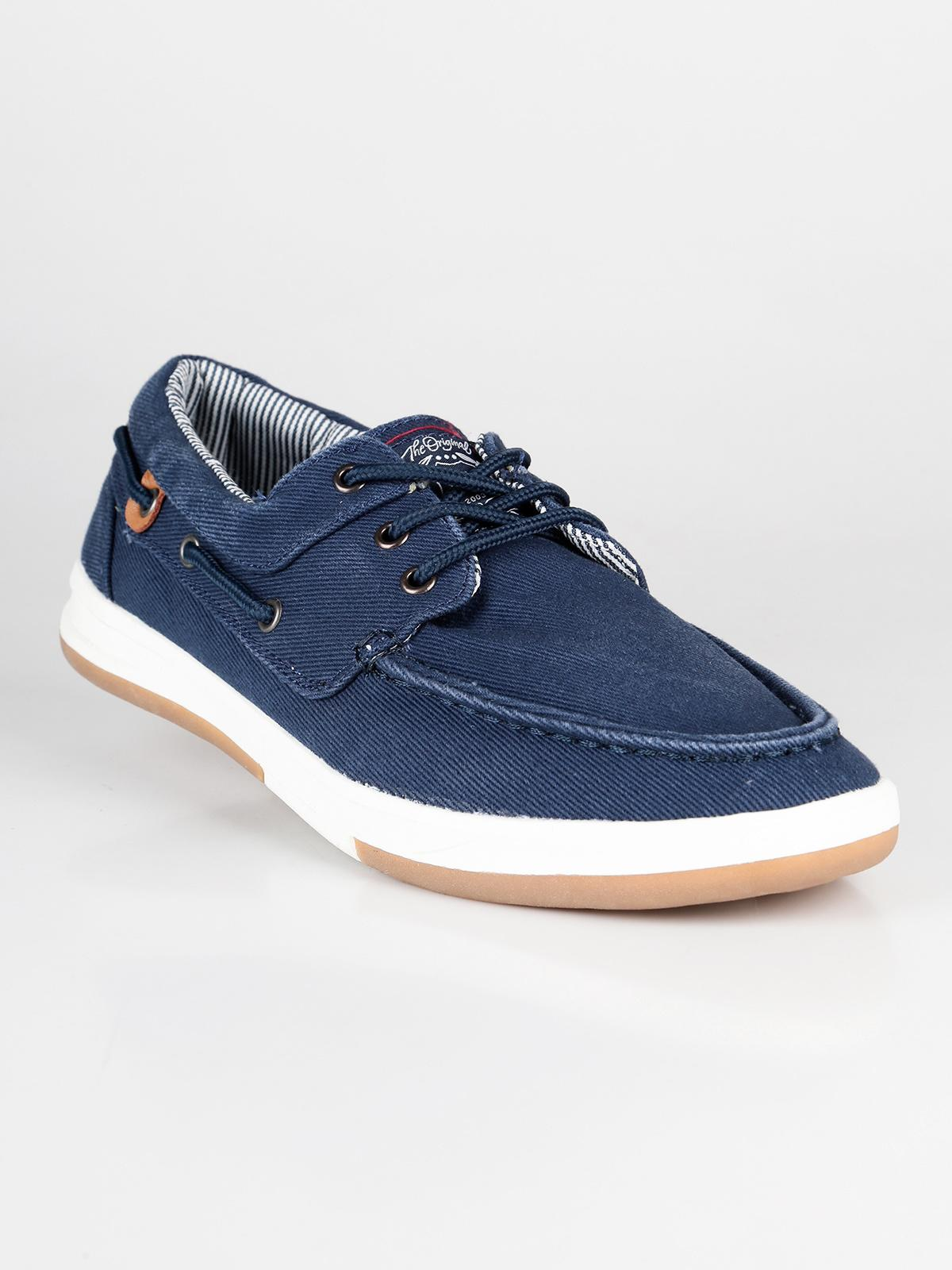 Scarpe da barca blu navy xti | MecShopping