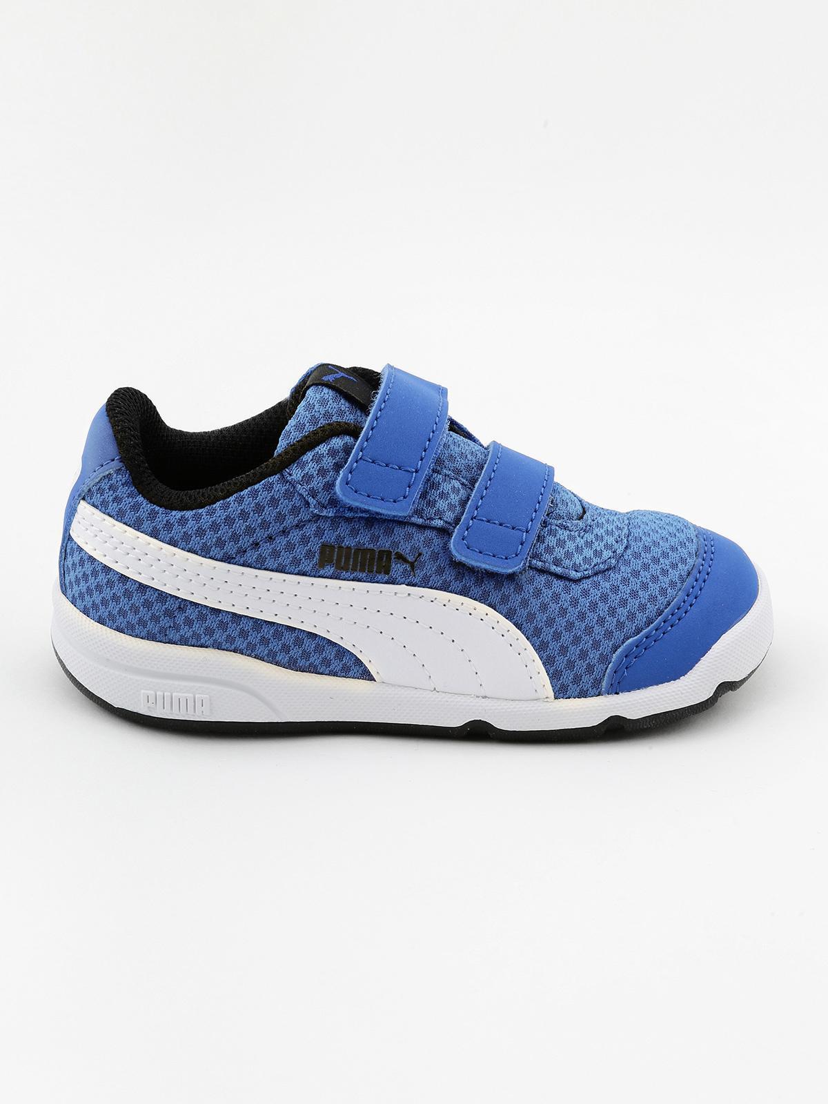Scarpe sportive blu STEPFLEEX 2 MESH V INF puma | MecShopping