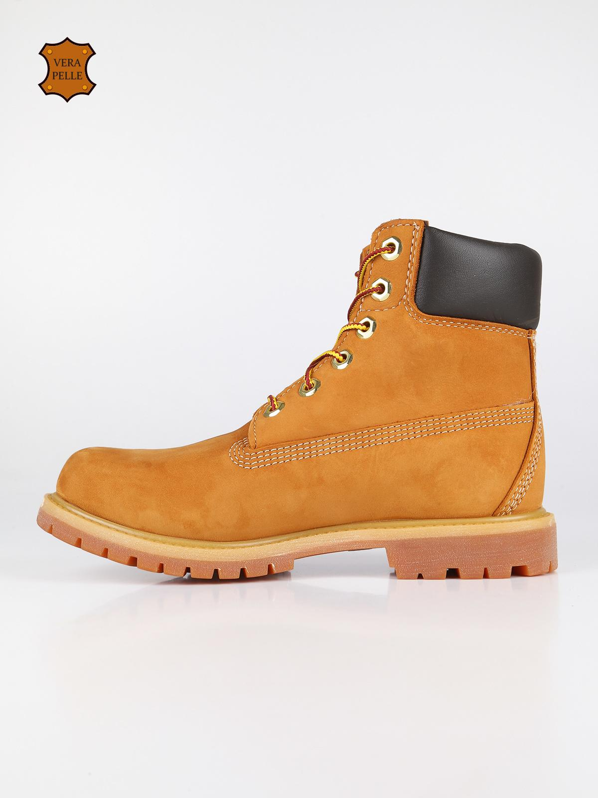 competitive price b25d0 bf53a timberland Scarponcini donna premium 6 inch giallo | MecShopping
