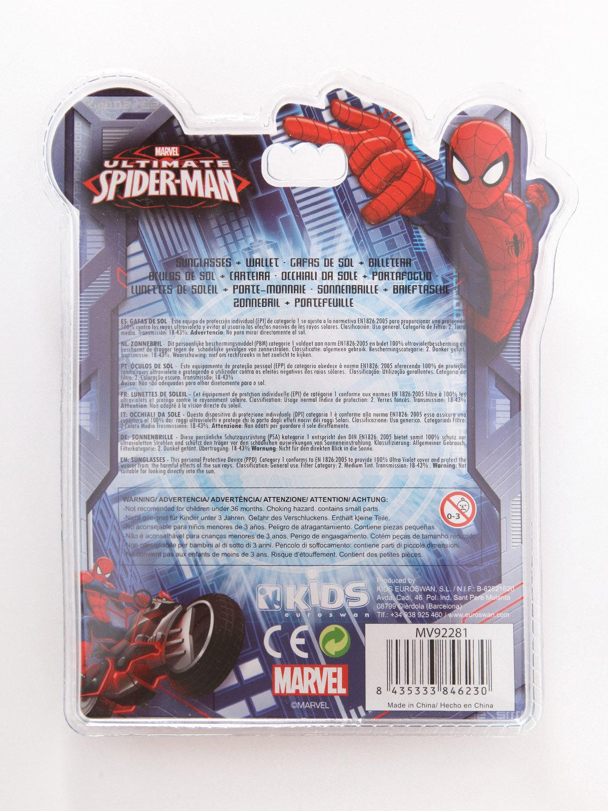 Disney Marvel Confezione da 6 Slip per Bambino Bimbo Disegno Spiderman Uomo Ragno