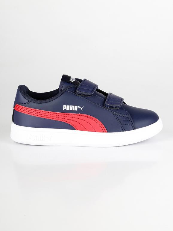 puma Smash v2 L V PS sneakers basse blu e rosse | MecShopping