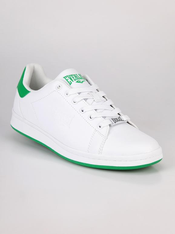 Sneakers basse bianche uomo BiancoVerde everlast