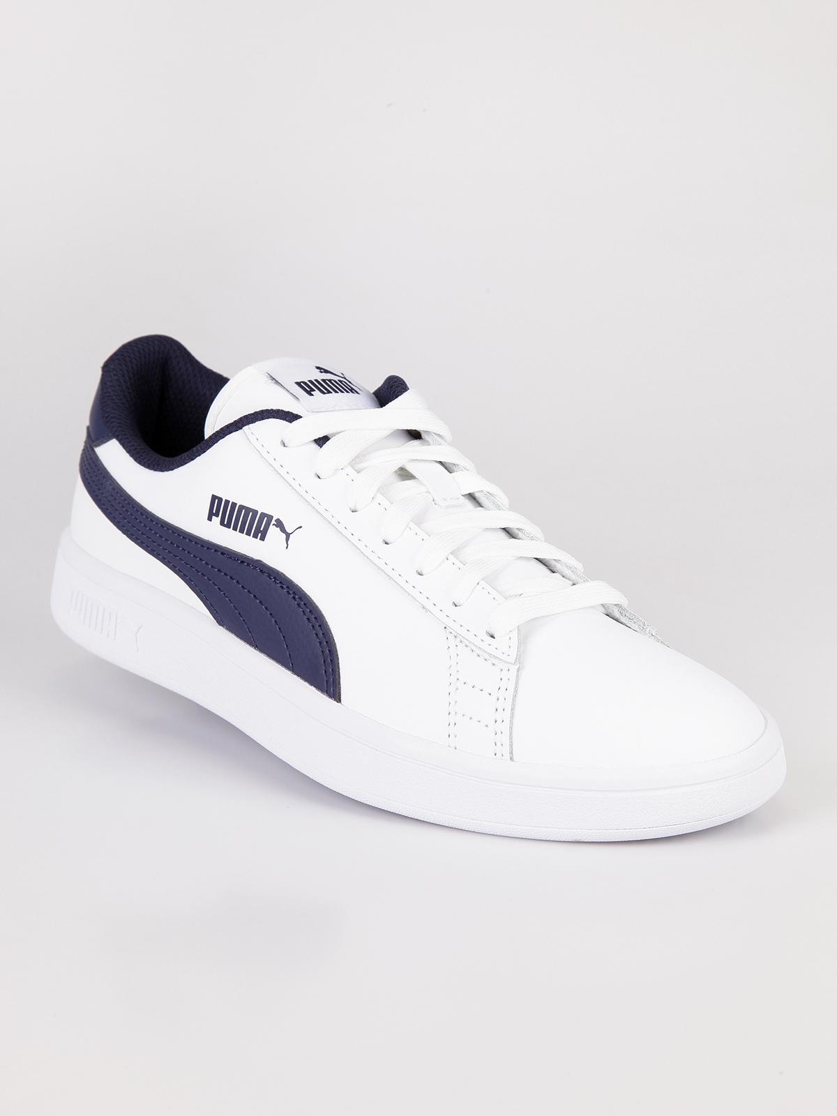 Sneakers basse Puma smash v2 L BiancoBlu puma | MecShopping