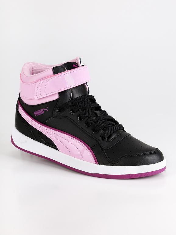Puma Sneakers Liza mid dazz V PS Nero Lavanda Donna