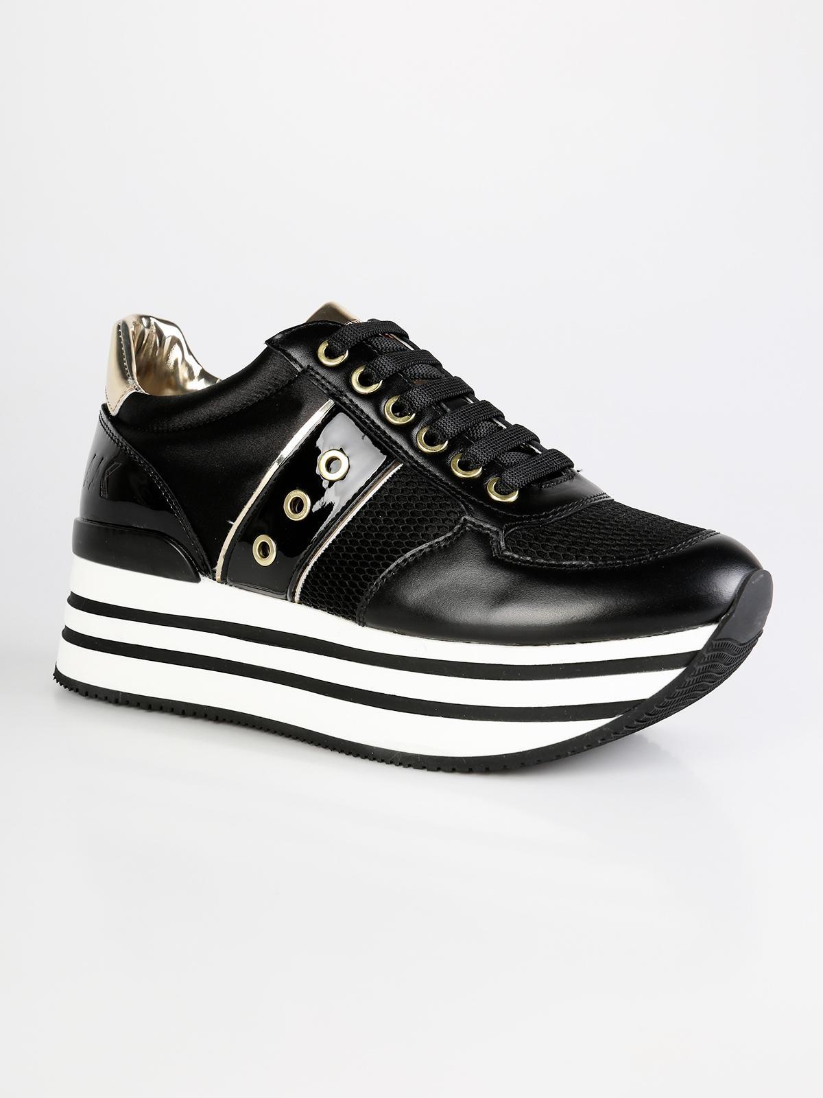 LumberjackMecshopping Nere Suola Alta Sneakers Con qpUzMVS