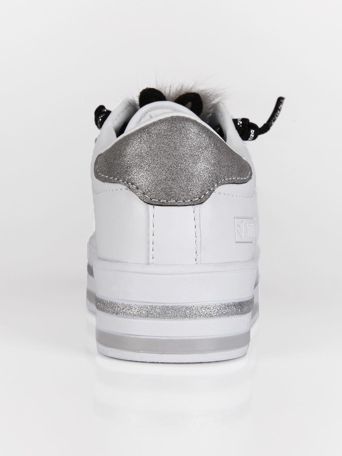 Sneakers platfom nere con strass sweet years | MecShopping