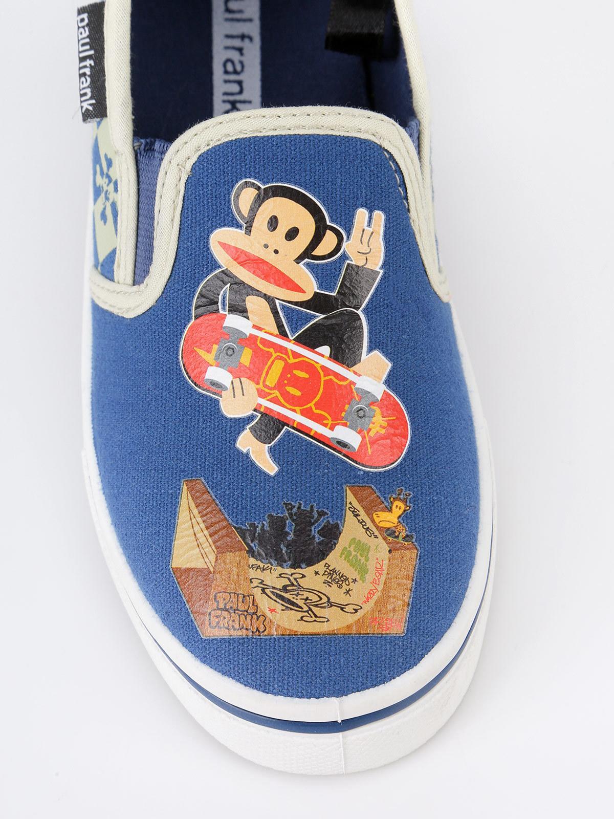 sale retailer 279cb add8a Sneakers slip on a scacchi bambino paul frank | MecShopping