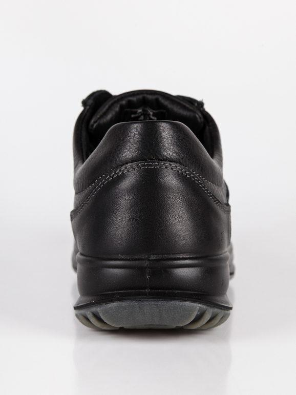 NIKE pelle logo tinta unita Sneakers Testa di moro Sneakers