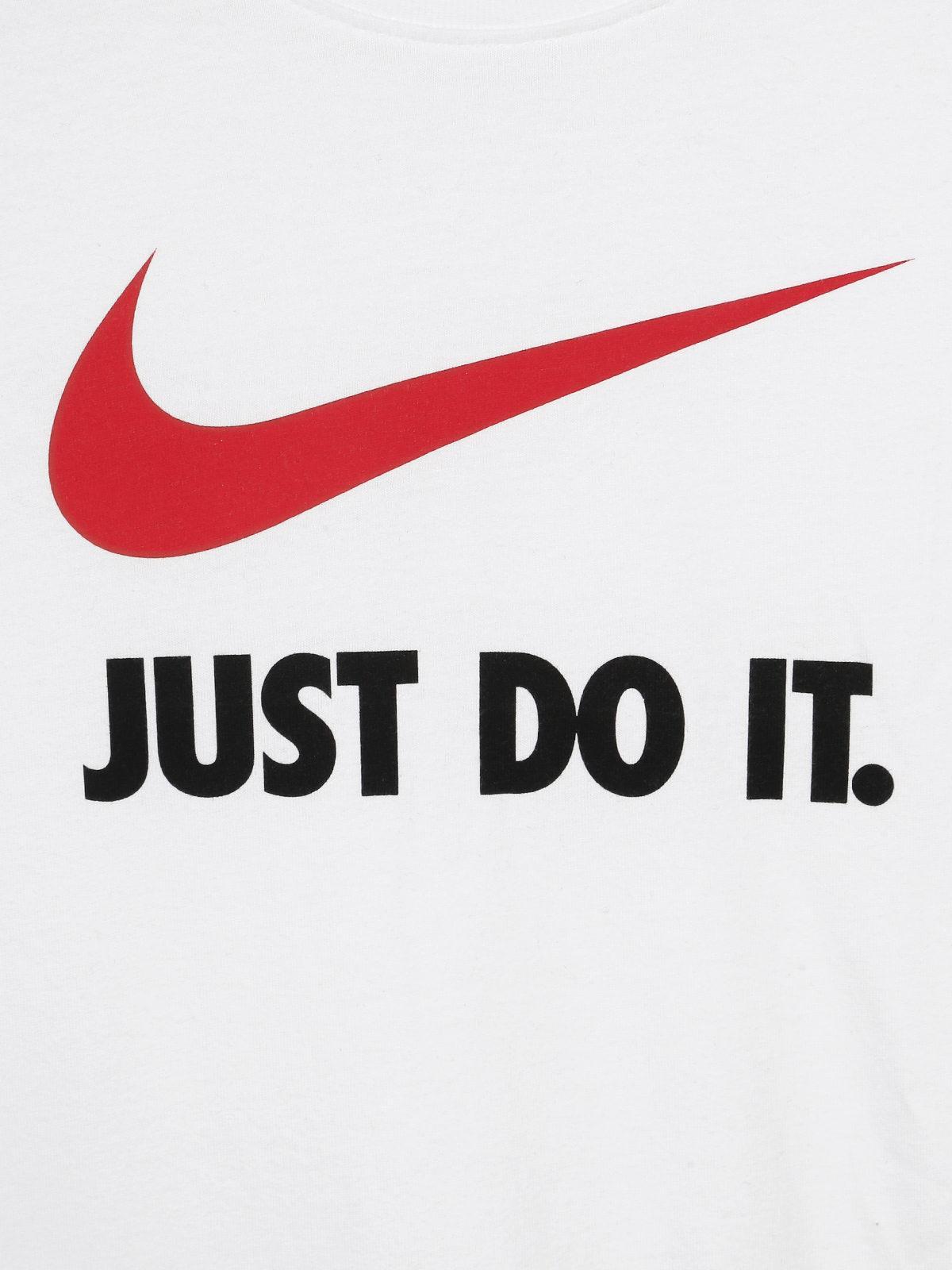 NIKE JUST DO IT (T shirt Bianca)