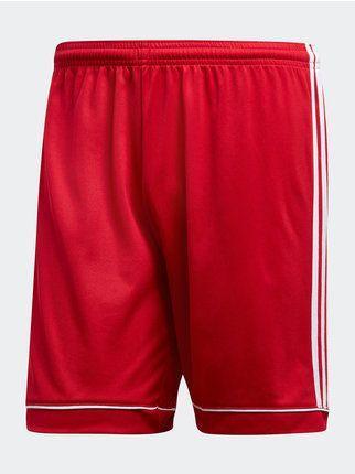 adidas pantaloni rossi uomo
