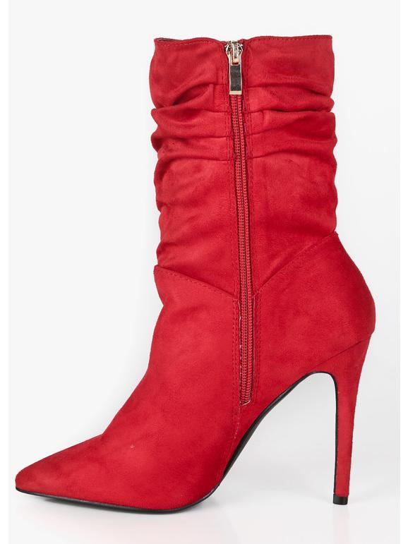 scarpe sportive ultima moda super speciali Stivaletti rossi a punta con tacco sweet shoes | MecShopping