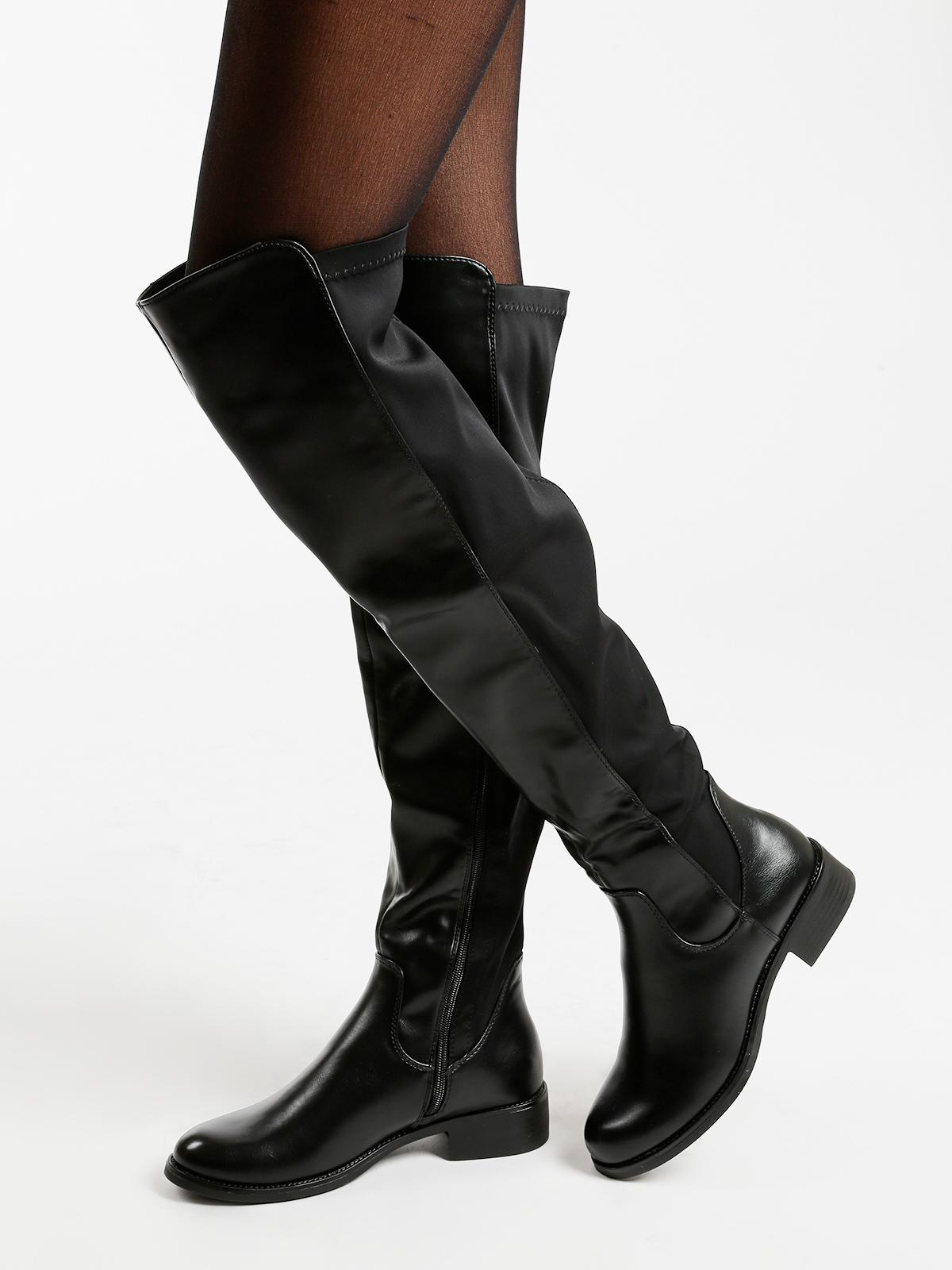 d44bb3199f Stivali al ginocchio bassi diamantique | MecShopping
