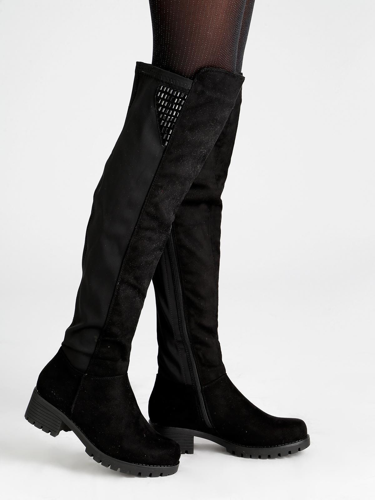rivenditore di vendita fcf8f b722e Stivali alti con borchie janessa | MecShopping