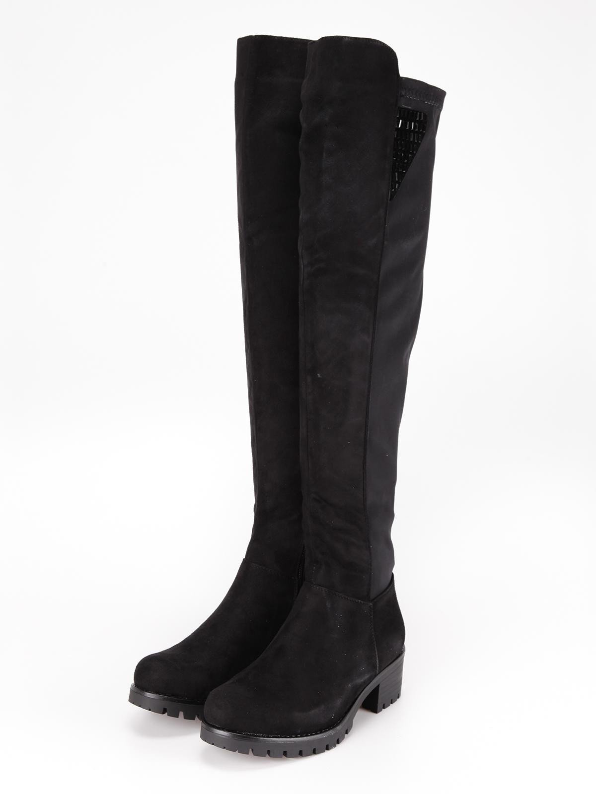 rivenditore di vendita adb95 4c2a4 Stivali alti con borchie janessa | MecShopping