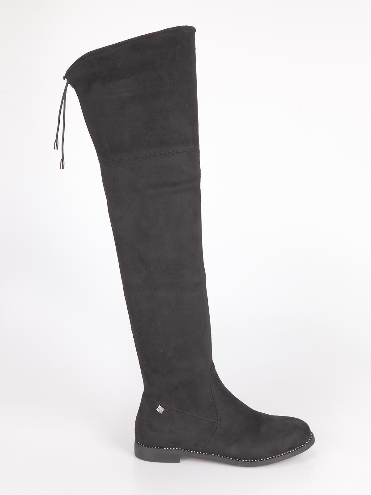 acquisto economico 4b0da e0575 Stivali alti con strass laura biagiotti   MecShopping