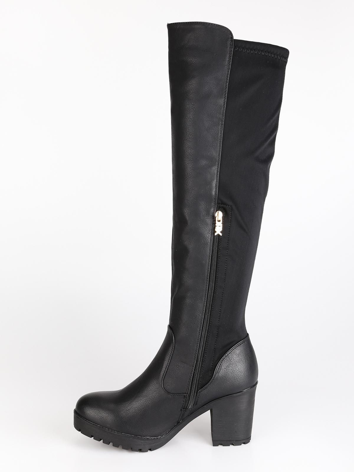 finest selection be033 b6c71 Stivali alti con tacco largo xti | MecShopping