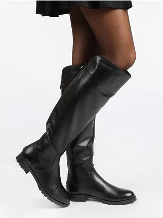 comprare popolare 9f681 8f061 gaia de monte Scarpe Stivali Stivali senza tacco donna ...