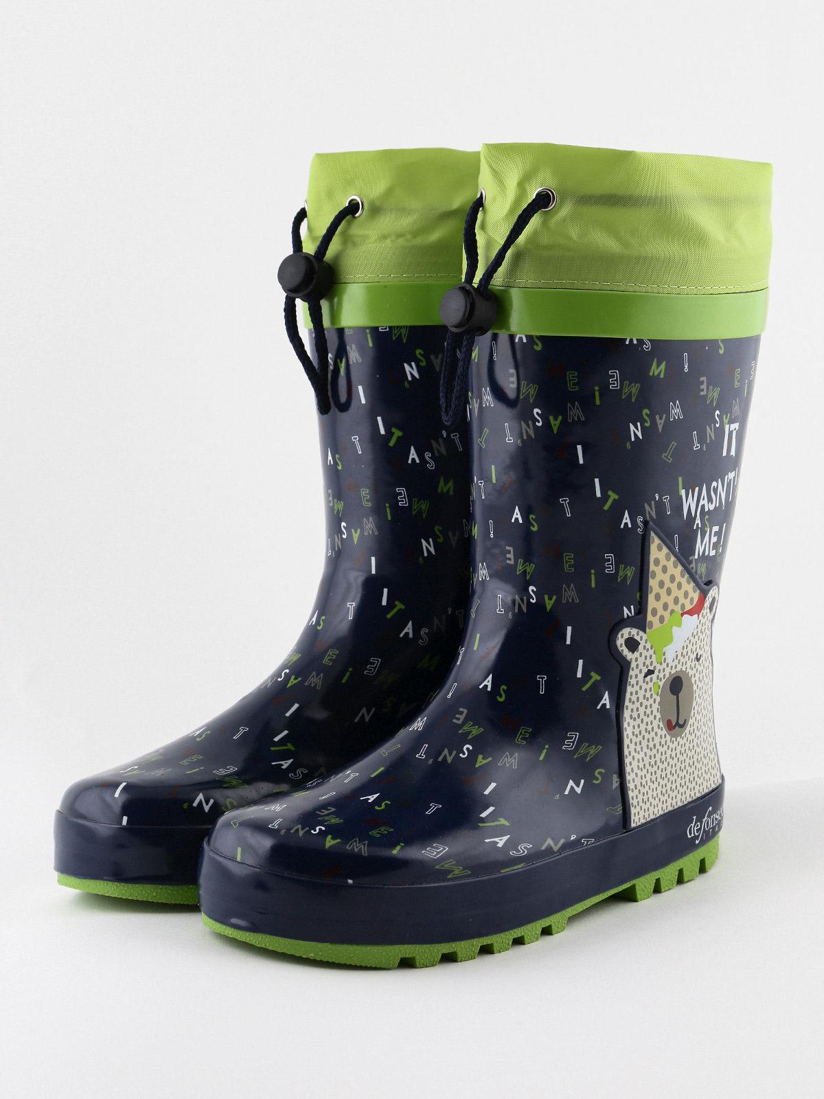 Stivali da pioggia in gomma chico   MecShopping