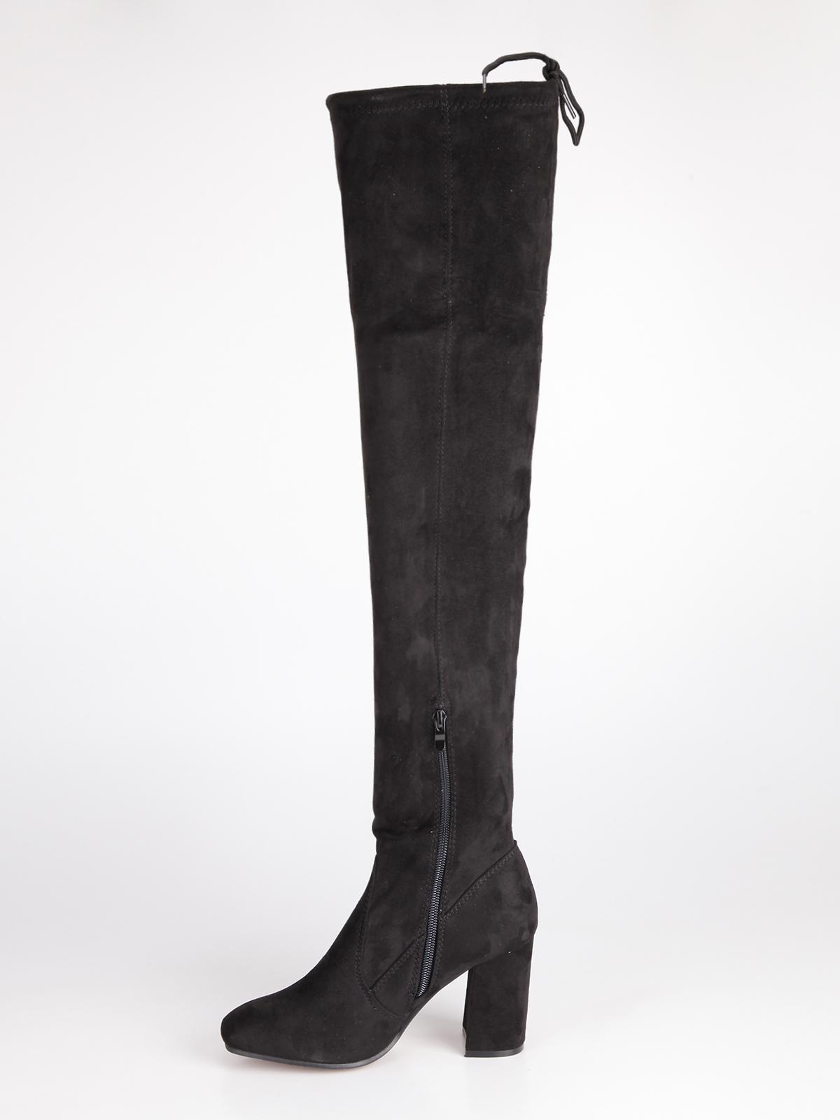 Stivali neri sopra il ginocchio super made | MecShopping