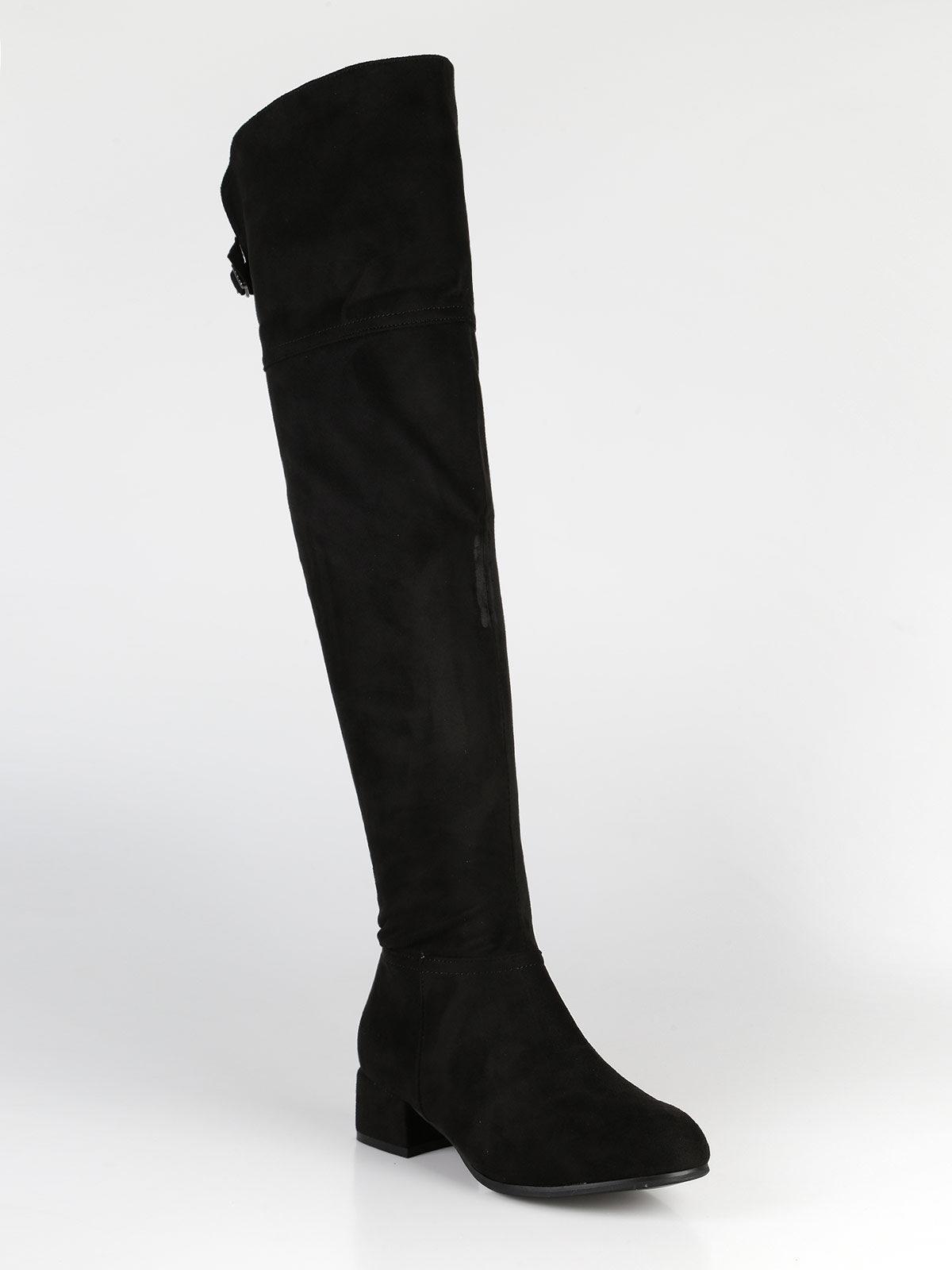 Stivali al ginocchio bassi diamantique | MecShopping