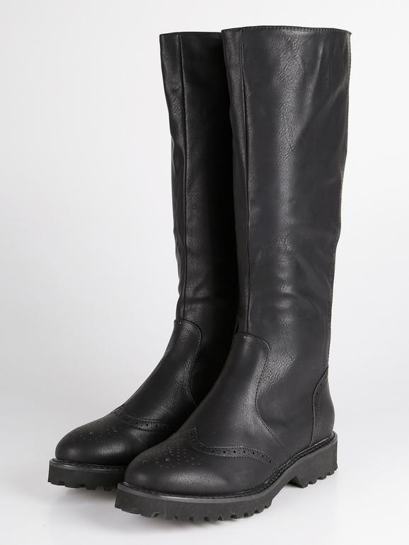 miglior servizio d1f07 853bc Stivali sotto il ginocchio - Nero solada | MecShopping