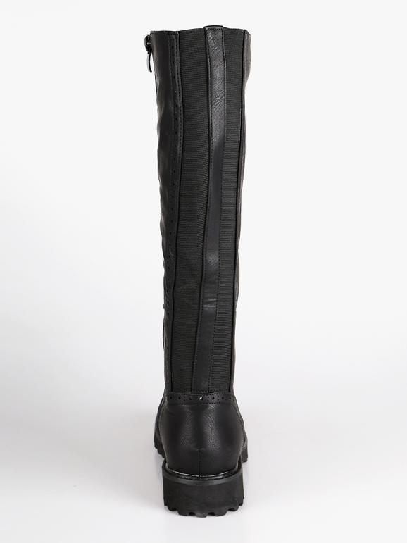miglior servizio 788a1 7732e Stivali sotto il ginocchio - Nero solada | MecShopping