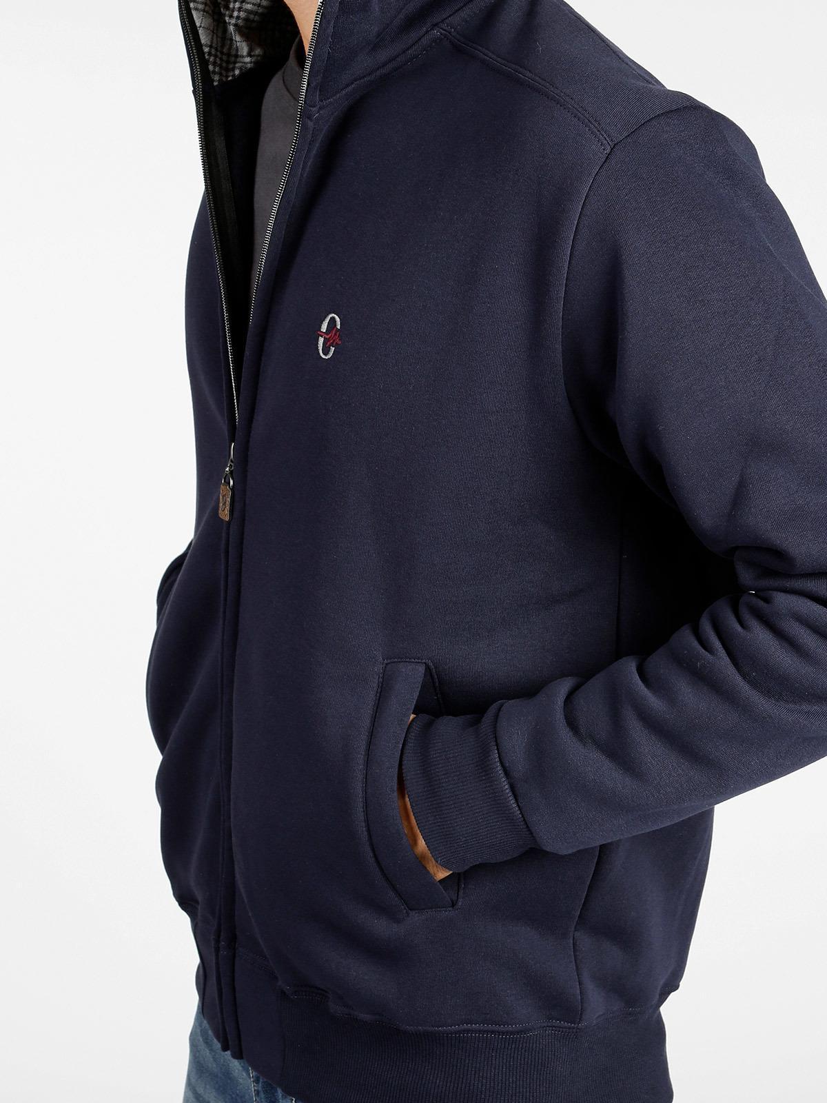 1fd9003632a1 Sudadera de cuello alto con cremallera - azul hombre | MecShopping