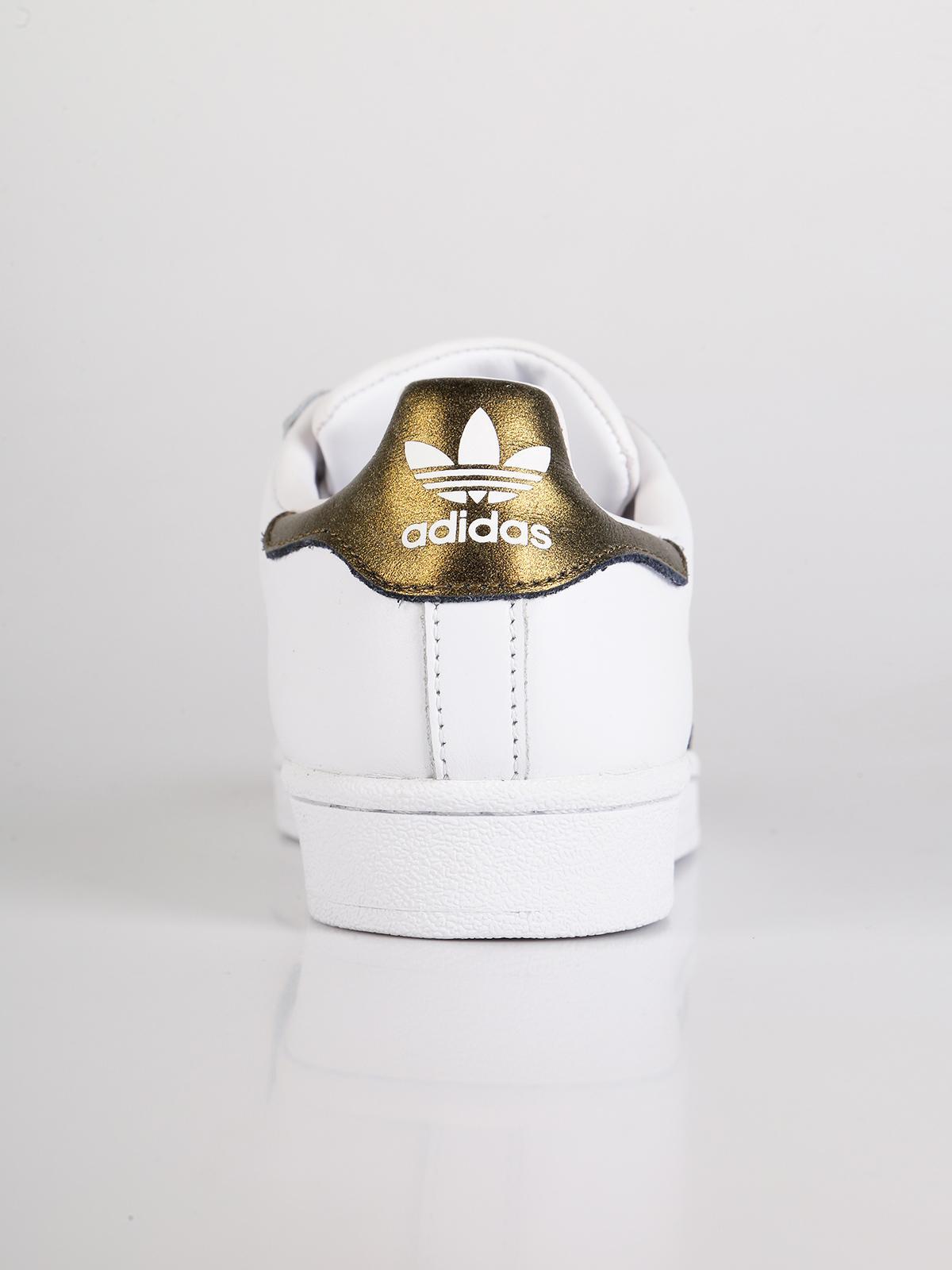 adidas bianche e oro